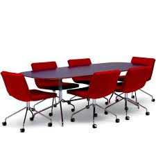 dining table with wheels:  elegant long wooden conference table with eames swivel chairs on dining chairs with casters and arms