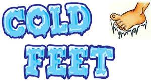 Bildresultat för cold feet