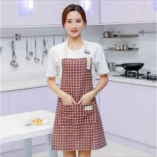 Lady Women Men <b>Adjustable Cotton Linen</b> High-grade Kitchen ...