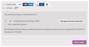 woocommerce authorize net cim woocommerce docs woocommerce authorize net cim authorization message for echecks