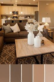 paint colors living room brown i really like this colour palette beige walls white kitchen cabinets neutral couches have my colourful curtains and find colourful throw pillows