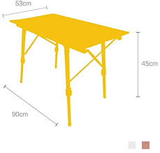 Mojawo Folding Camping Table Garden Table Camping <b>Side Table</b> ...