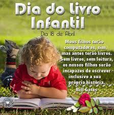 Resultado de imagem para dIA DO lIVRO iNFANTIL