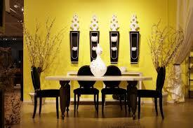 glamorous black furniture wall color