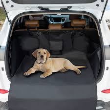 Pet Car Back Seat Cover Waterproof Oxford Cloth Focuspet Boot ...