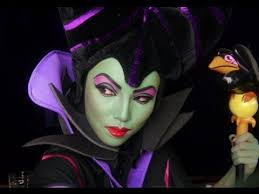 full face maleficent tutorial