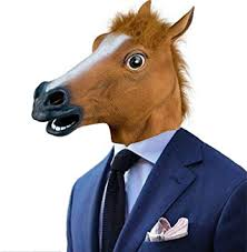 Novelty <b>Halloween</b> Party Mask,Latex Horse Head Mask <b>Halloween</b> ...