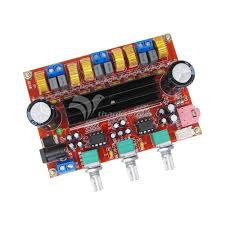 Generic DC12V-24V 2*50W+100W <b>XH</b>-<b>M139 2.1 Channel</b> digital ...