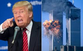 Donald Trump and Twin Towers