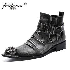 Plus Size <b>Fashion</b> Pointed Toe Pleated Man Handmade <b>Shoes</b> ...