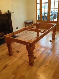 7ft dining table: view   view