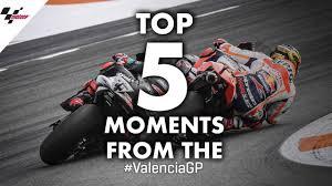 <b>2019</b> #ValenciaGP Top 5 Moments - YouTube