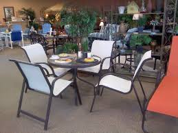 garden furniture patio uamp: atlanta  ocean lowback dining set in grecco finish