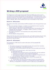 sample bid proposals anuvrat info 5 sample bid proposal procedure template sample