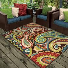 rugs patio beautiful concrete outdoor rugs you  ll love wayfair