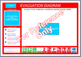 evacuation map templateevacuation diagram blank template