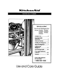 whirlpool fridge zer wiring diagram images kitchenaid refrigerator ktrs20k user guide manualsonlinecom