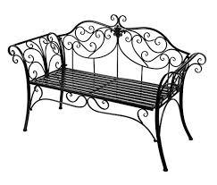 Timberlion Metal Antique <b>2 Seater Garden Bench</b> Outdoor Indoor ...