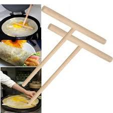 <b>Crepe</b>-<b>Maker</b>-<b>Pancake</b>-Batter-Wooden-Spreader-Stick-Home ...