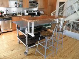 kitchen island mobile: image of interior mobile kitchen island with seating