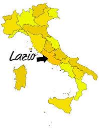 Resultado de imagen para región del Lacio