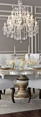 dining room alluring crystal chandelier  images about dining room on pinterest beautiful dining rooms the chan
