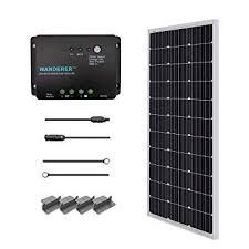 Renogy 100 Watts 12 Volts Monocrystalline <b>Solar</b> Starter <b>Kit</b>