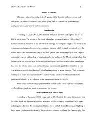 movie review  the matrix visual arts  amp  film studies essay    movie review  the matrix