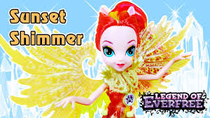 Обзор <b>куклы</b> Сансет Шиммер с крыльями - Legend of Everfree ...