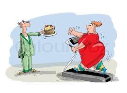 Výsledek obrázku pro losing weight cartoon