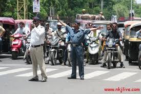 traffic police india