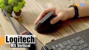 <b>Logitech MX Vertical</b> — обзор вертикальной <b>мыши</b> - YouTube