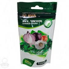 <b>Удобрение для лука и</b> чеснока, пряных трав AVA - Купить ...
