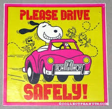 Snoopy Drive Safely Sticker | Other's Pinterests from ...