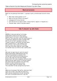 keats john ks poetry key stage resources 1 preview