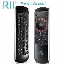 <b>Rii mini i25</b> AZERTY French <b>Keyboard</b> Fly Mouse Remote Control ...