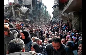 Image result for Yarmouk camp photo