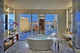 bathroom suite mandarin: glorious view from the apex suite at the mandarin oriental las vegas vacations pinterest hotel offers oriental and the ojays