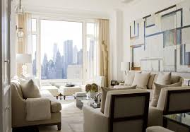 chic large wall decorations living room: modern living room ideas with chic modern living room decorating ideas for apartments with chic white sectional sofas withe cushions and chic fur rugs design as well as chic modern furniture decorating white walls paneling colors