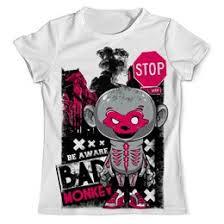 Купить футболки с <b>обезьяной</b>, майки с <b>обезьяной</b> в интернет ...
