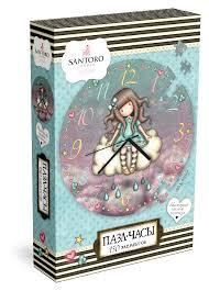 <b>Санторо</b>. <b>Пазл</b> Часы. 150 элементов April Shower <b>Оригами</b> ...