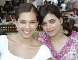 Lorena de Gutiérrez y Loretta Zablah. - 68499