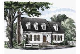 Eplans Cape Cod House Plan   Colonial Cottage   Square Feet    Front