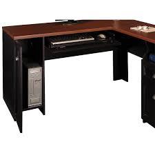 astounding small black computer desk home small l shaped desk black computer desks home
