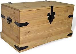 Canditree Antique Large Storage Trunk Wood ... - Amazon.com