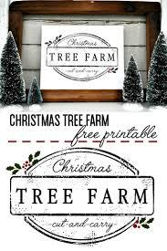 <b>Christmas Tree</b> Farm Printable - Little <b>Glass</b> Jar | <b>Christmas tree</b> farm ...