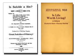 the book shelf suicide and philosophy books on cdrom psychotherapy including the history of the use of mental influence by james joseph walsh has a section on suicide
