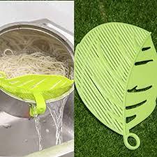 Professional 1pc Durable Clean Leaf Shape Rice ... - Amazon.com