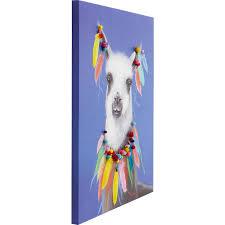 """<b>Картина Lama Pom</b> Pom, коллекция """"Лама Пом Пом"""", ручная ..."""