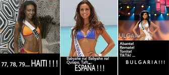 Memes: Funny Miss Universe Introductions | Random Republika via Relatably.com